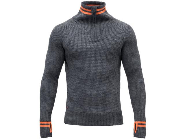 Devold Varde Zip Neck Sweater Herre subsea